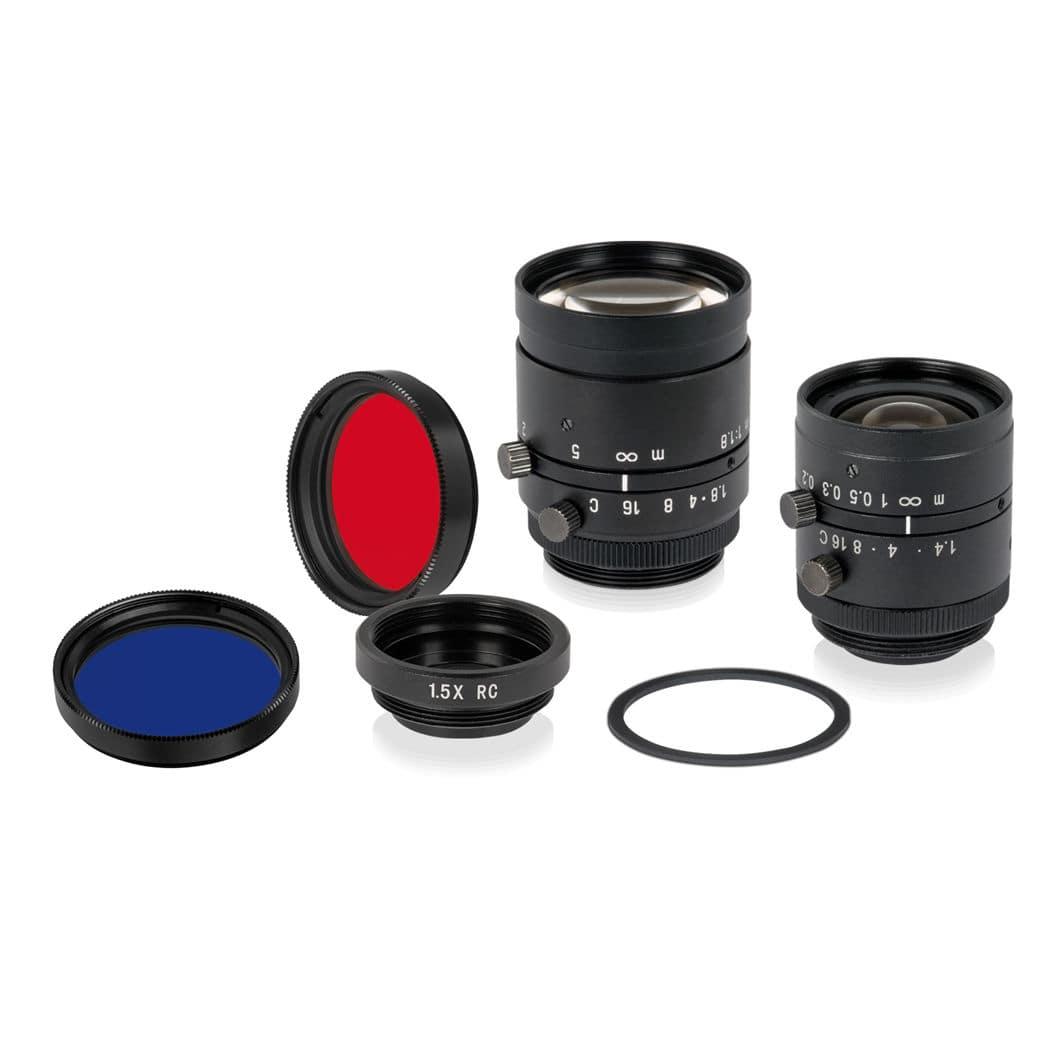 Objectif de caméra с увеличением вариофокальный прочный для системы технического зрения di-soric