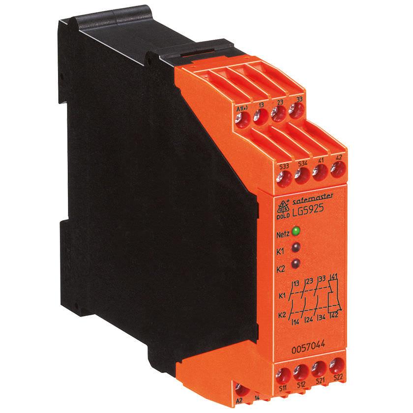 Электромеханическое реле с аварийной остановкой для защиты на DIN-рейке SAFEMASTER | LG 5925 DOLD