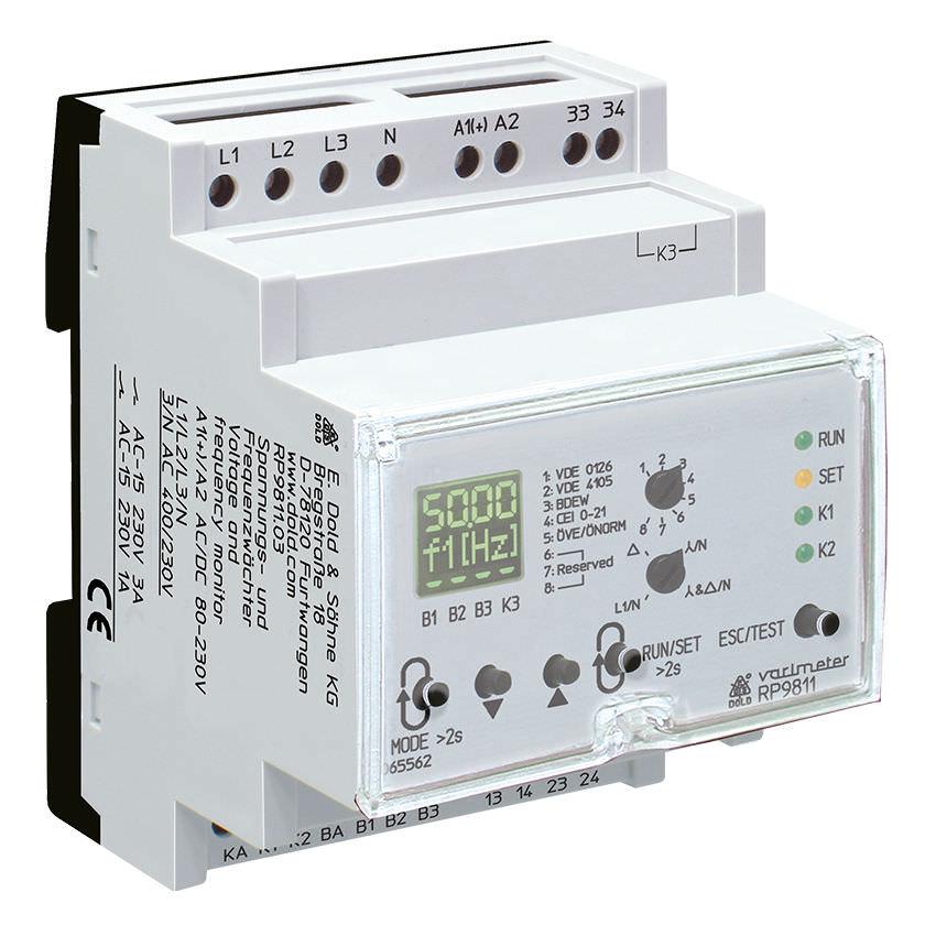 Электромеханическое реле напряжение для защиты управления VARIMETER NA | RP 9811 DOLD