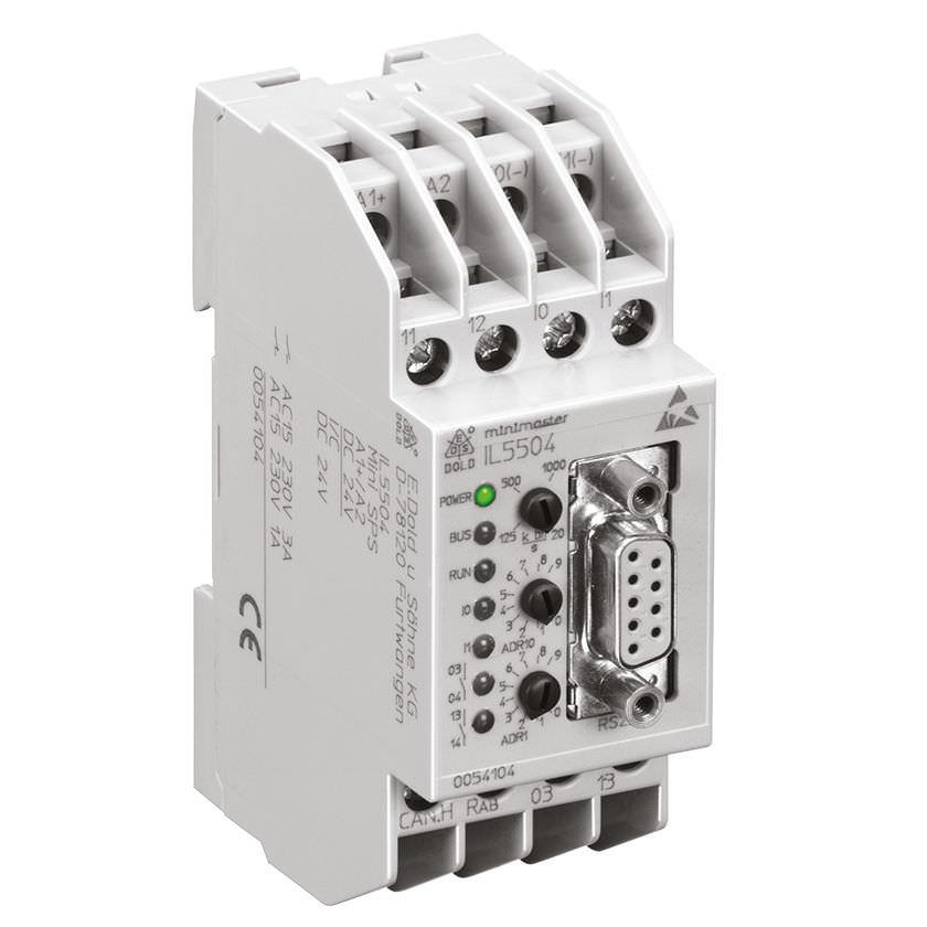 Программируемая автоматическая система на DIN-рейке CANopen MINIMASTER | IL 5504 DOLD