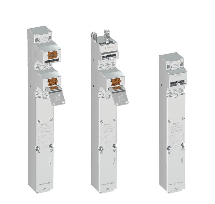 Устройство блокировки с электрической проверкой DOLD