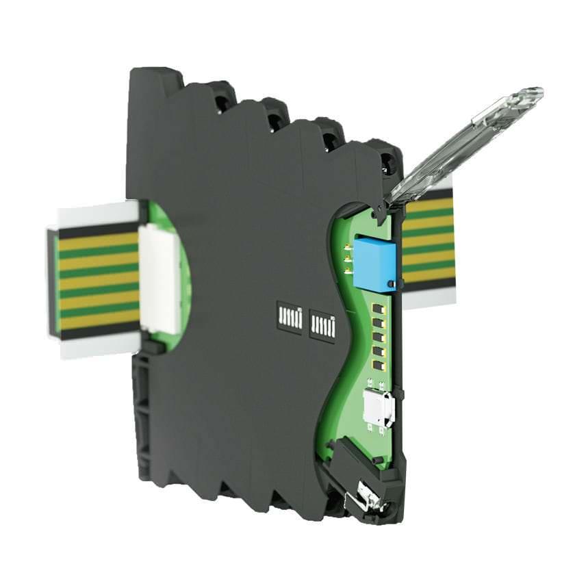 Корпус из пластика на DIN-рейке для электронного оборудования 6,2 mm | KS 4460 series DOLD