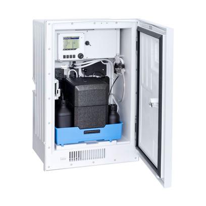 Анализатор аммония Liquiline System CA80AM с охлаждением для увеличения срока службы реагентов