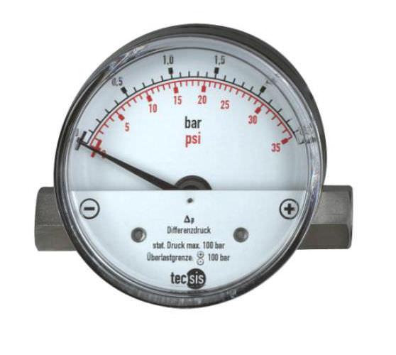 Манометр с переменным давлением поршневый игольчатый процесс max. 400 bar | P2600 tecsis