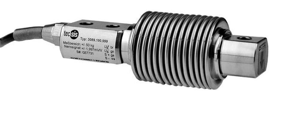 Датчик силы при изгибе из нержавеющей стали max. 5 000 kg | F3 series tecsis