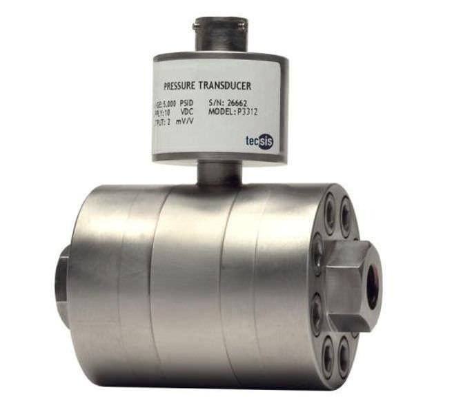 Дифференциальный датчик давления из нержавеющей стали max. 600 bar | P3312  tecsis