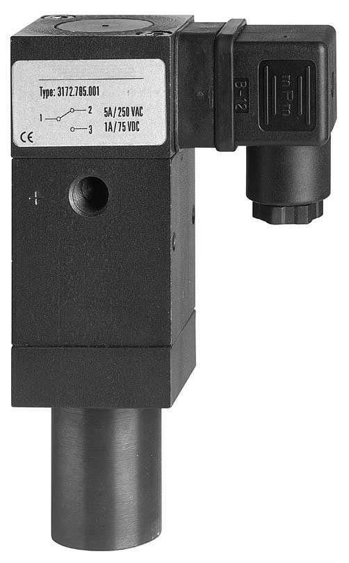 Прессостат дифференциального давления с усиленными мерами безопасности 0.3 - 50 bar | S4510, S4530 tecsis