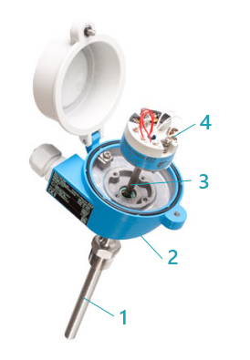 Конструкция термометра сопротивления Endress+Hauser